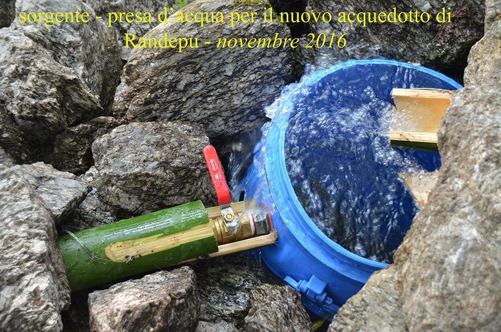 Sorgente acquedotto Randepu CiaoNamastè Nepal