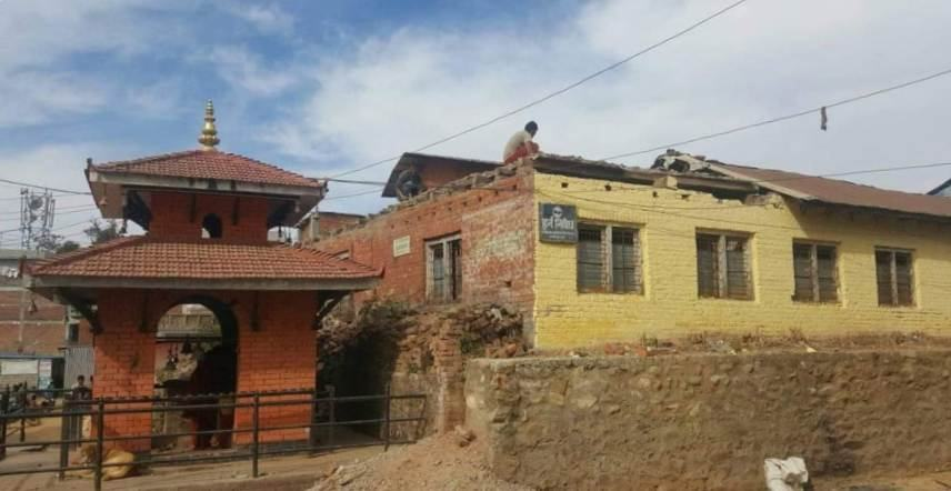 Bhagawati-School-demolizione