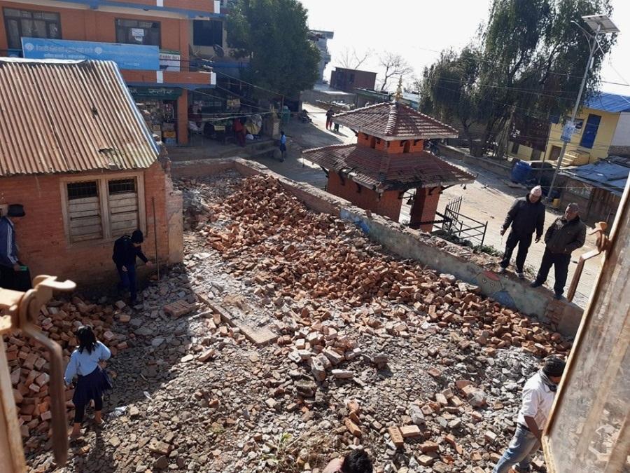 Bhagawati-School-demolizione9