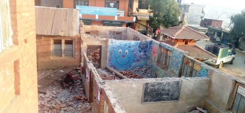 Bhagawati-School-demolizione7