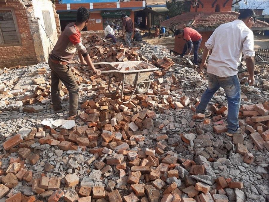 Bhagawati-School-demolizione8