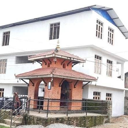 Termine prima tinteggiatura - Bhagawati School
