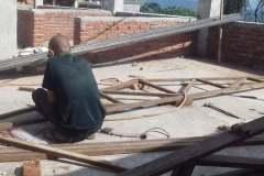 Si comincia con il tetto - Bhagawati School