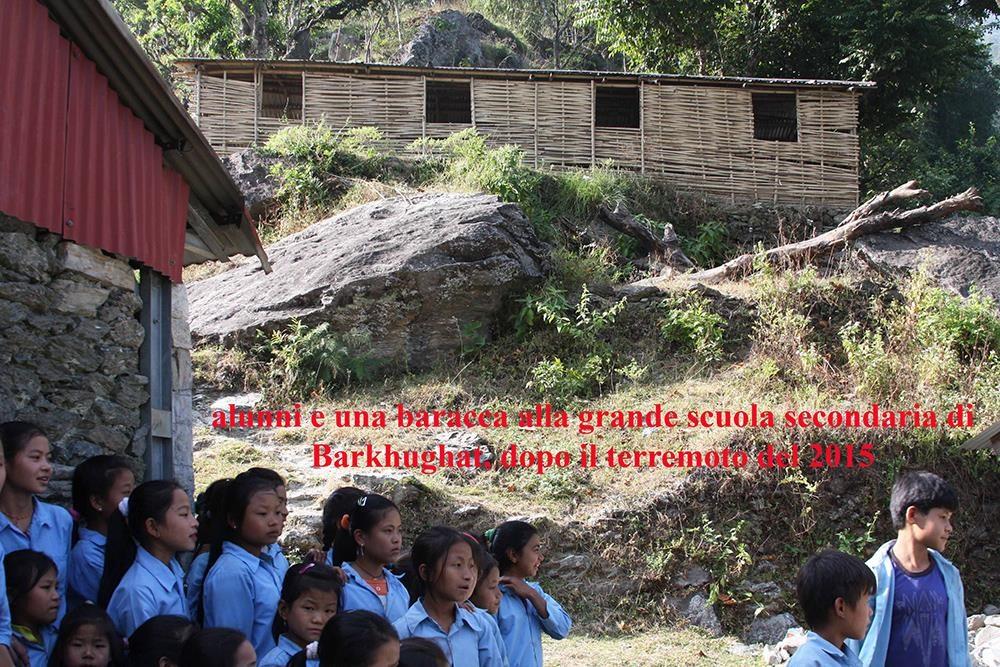 Terremoto 2015 Barkhugat - Solokhumbu Nepal