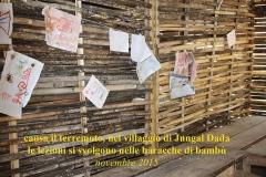 Terremoto 2015 baracche di bambù Solokhumbu CiaoNamastè Nepal