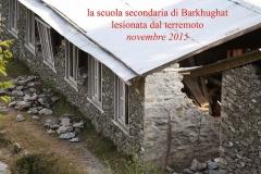 Terremoto 2015 Scuola di Barkhugat - Solokhumbu Nepal