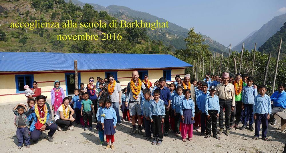 Barkhughat. Accoglienza novembre 2016 CiaoNamastè Nepal