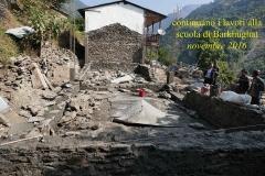Barkhughat lavori novembre 2016 CiaoNamastè Nepal