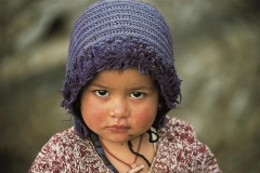 Dolcissimo sguardo CiaoNamastè Nepal bimba