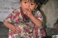 Il nasino CiaoNamastè Nepal bimba