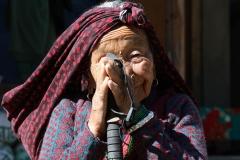 Anziana donna CiaoNamastè Nepal