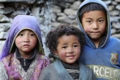 Trio di tenerezza CiaoNamastè Nepal