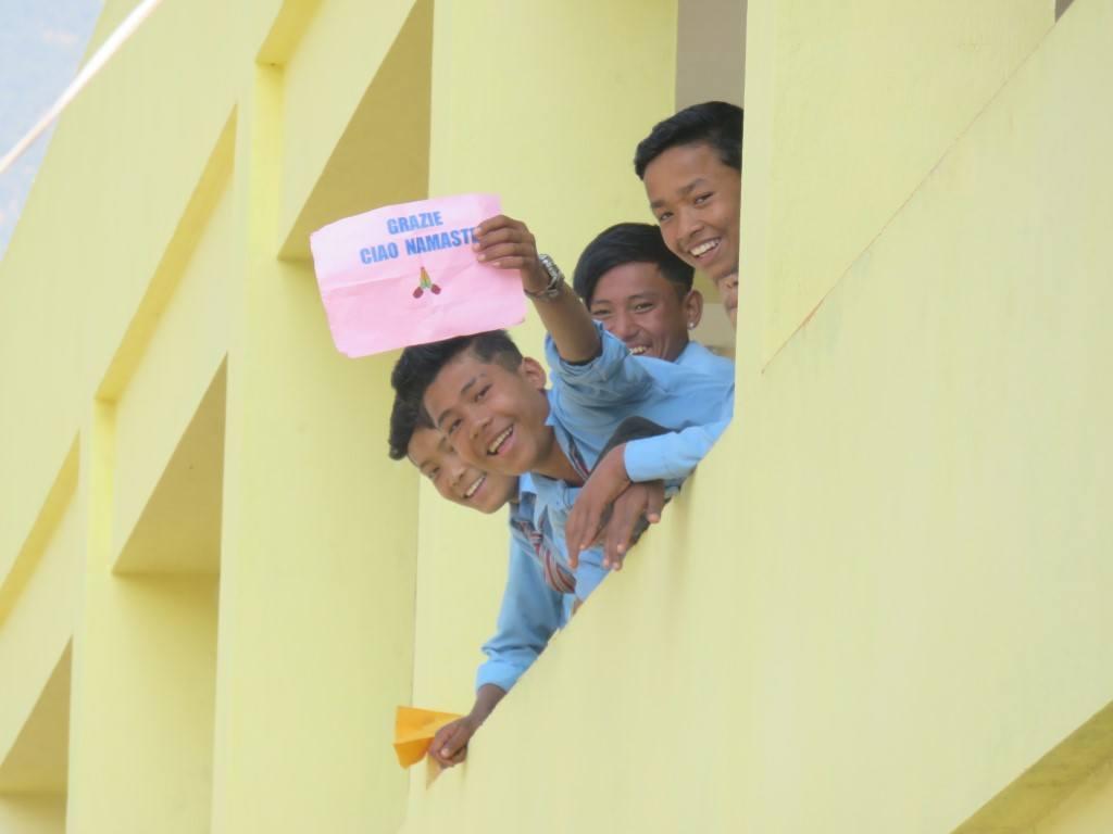 Studenti Bhumeshori-School- Sindhupalchock- Kuel- CiaoNamaste Nepal