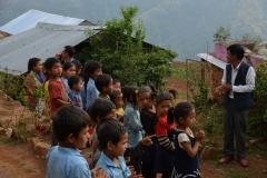Accoglienza-Saraswoti-School-Milche-Nepal