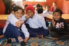 Sanga Sangai School bambini CiaoNamastè Nepal
